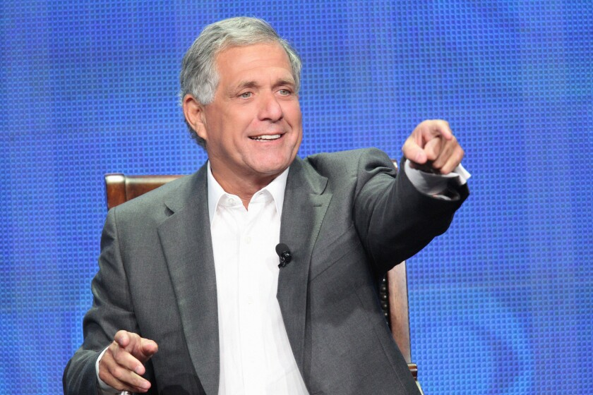 Les Moonves, chief executive of CBS Corp., has been trading letters with Time Warner Cable's Glenn Britt.