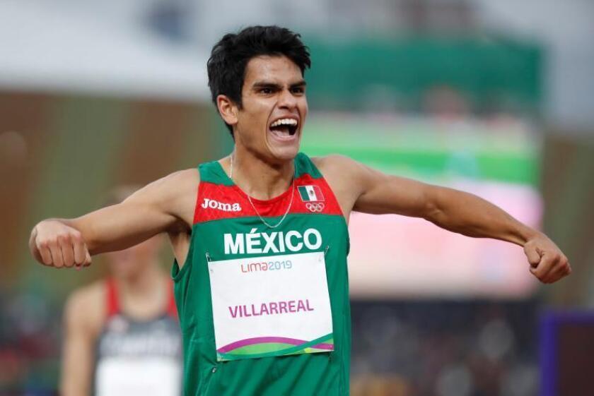 México se queda el oro en 1.500 m con Villarreal y la plata en 400 con Morán