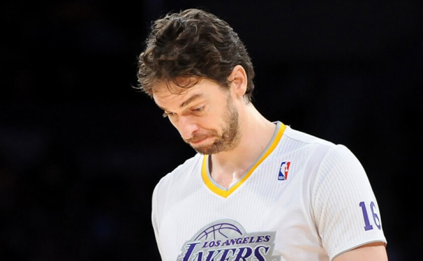 Pau Gasol is hoping to be in the lineup Tuesday despite some nagging health issues.