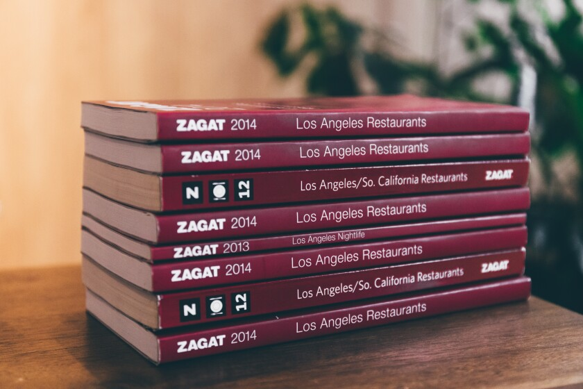 Zagat's restaurant guide will return to Los Angeles in June in an online version. A physical guidebook may follow.