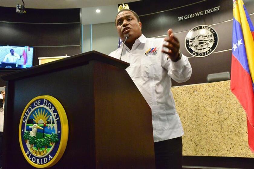 Jose Antonio Colina, presidente de la Organización de Venezolanos Perseguidos Políticos en el Exilio (Veppex). EFE/Archivo