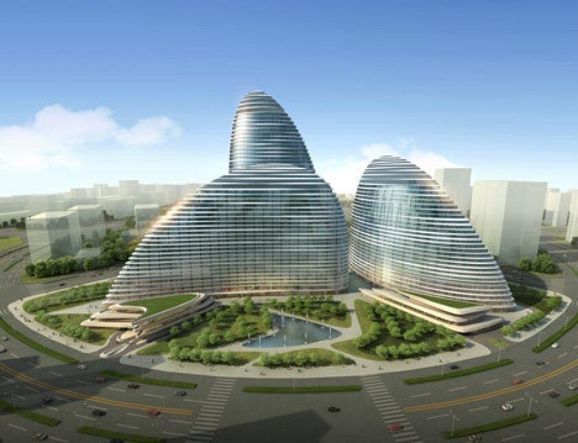 The design for the Wangjing Soho.