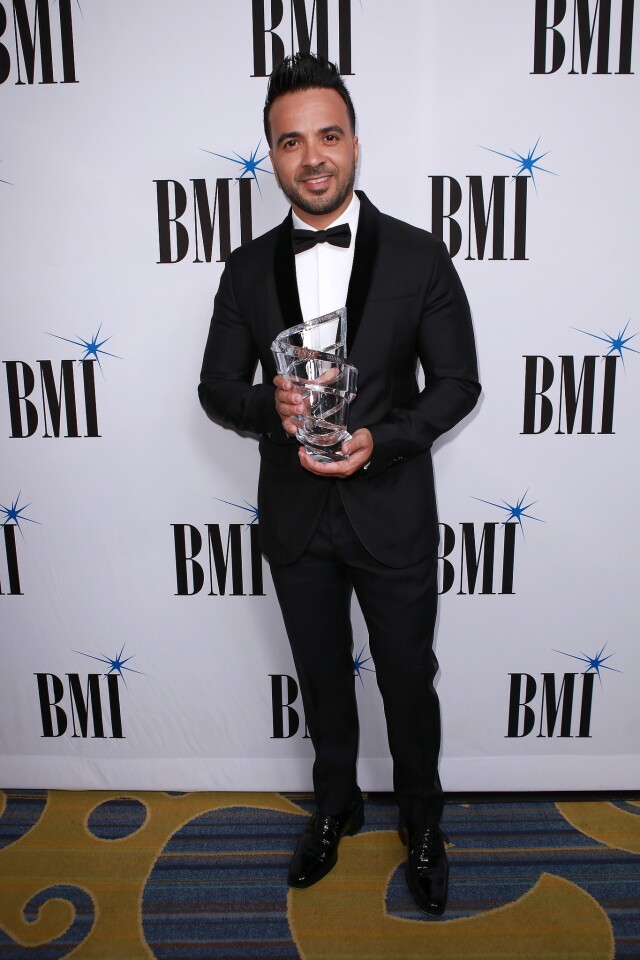 Luis Fonsi arrives at the 25th BMI Annual Latin Awards held at Beverly Wilshire Four Seasons Hotel on March 20, 2018 in Beverly Hills, CA. (Photo by © Fanny Garcia/DDPixels.com)