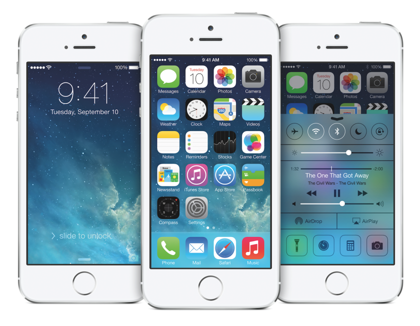 Above, iOS 7 running on the iPhone 5s. Various reports this week detail the numerous changes to come in iOS 8.