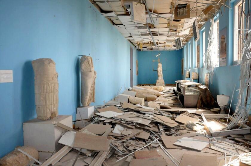Palmyra antiquities