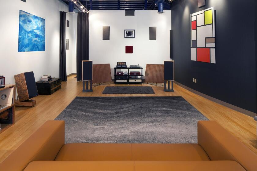 At Josh Turney's 2,000-square-foot audio boutique, Déjà Vu Audio West at 7855 Herschel Ave. in La Jolla, customers get personal service in four contemporarily furnished listening rooms. (858) 412-4023. dejavuaudiowest.com