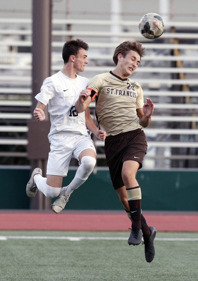 Photo Gallery: St. Francis vs. Loyola in Mission League boys' soccer