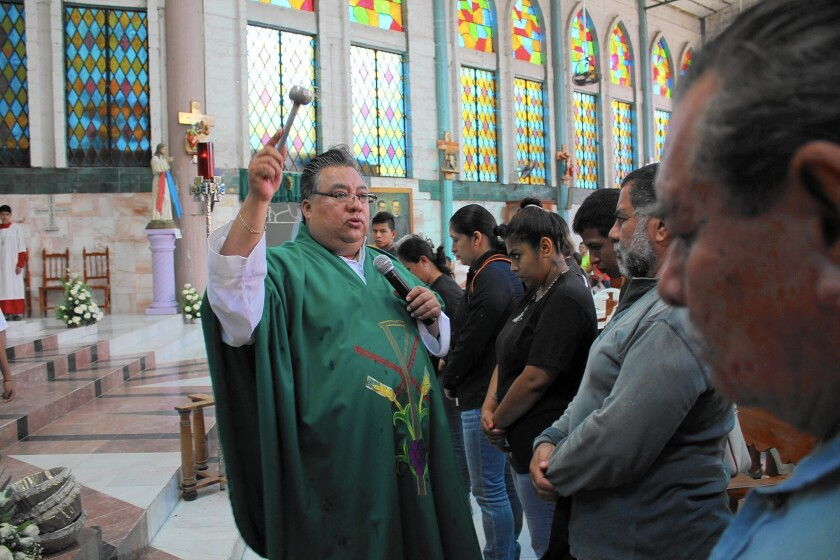 """People have ... so much hate, so much disregard for life,"" says Father Oscar Prudenciano Gonzalez of the San Gerardo church of Iguala, in Mexico's Guerrero state."