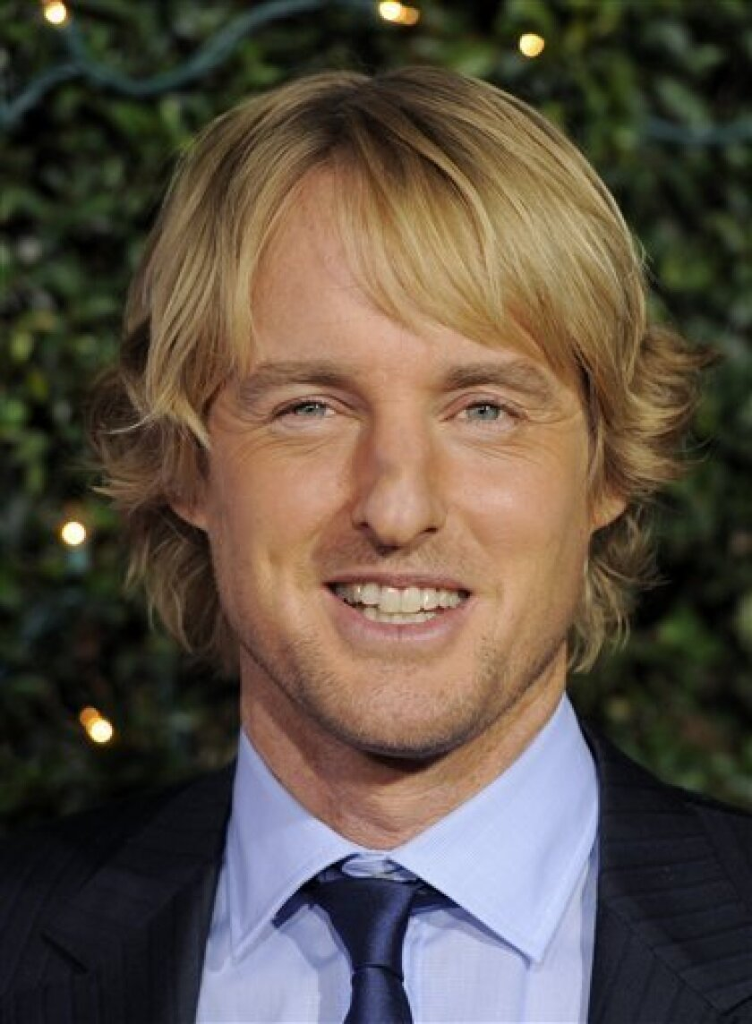 """FILE - In this Dec. 13, 2010 file photo, Owen Wilson arrives at the premiere of the film """"How Do You Know"""" in Los Angeles. (AP Photo/Chris Pizzello, File)"""