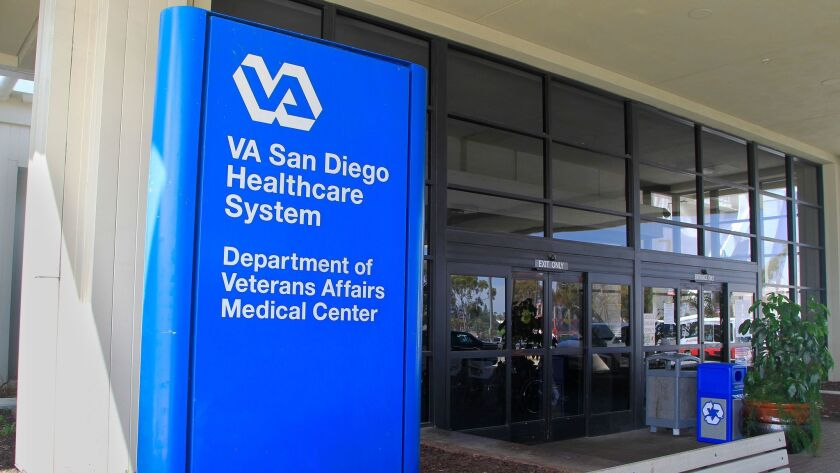 May 30th 2014, San Diego, CALIFORNIA, USA. -------- | This is the VA Medical Center on Friday in Sa