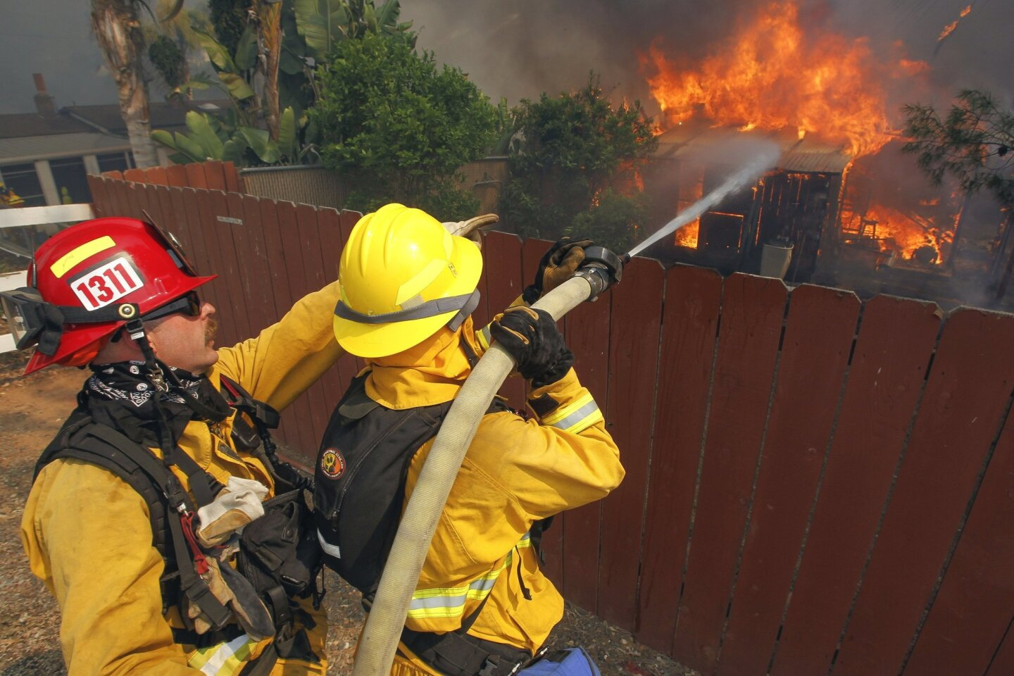 Day 3: San Diego County Fires