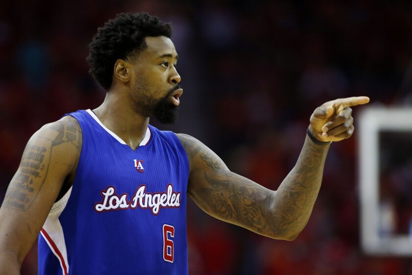 Clippers center DeAndre Jordan will soon be able to point to the free-agency destination of his choosing.