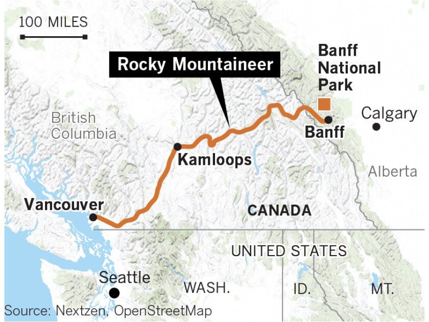 Ride the Rocky Mountaineer and be amazed at the spectacular mountain ranges. And then there's Sasquatch - The San Diego Union-Tribune