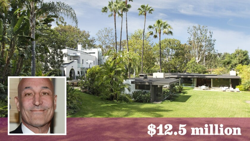 """The Pacific Palisades estate of """"The Simpsons"""" co-creator Sam Simon has changed hands for less 'doh' than the original $18-million asking price."""