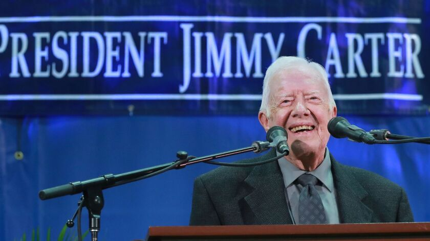 Jimmy Carter, 93, is a nine-time Grammy nominee.