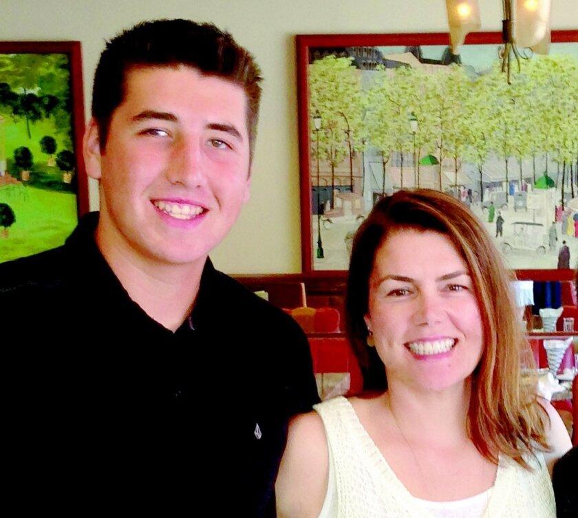National League of Young men members Charlie Gal and Lisa Barnhouse-Gal.