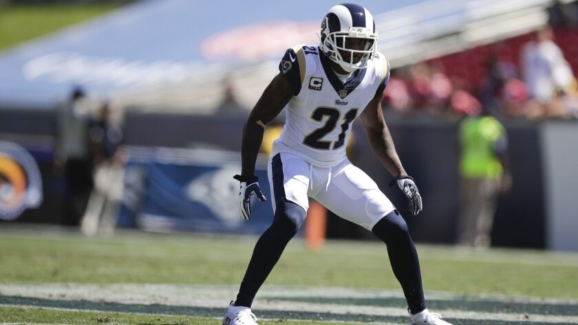 newest 1bd7d 9fd5f Rams will be without cornerback Aqib Talib when they face ...