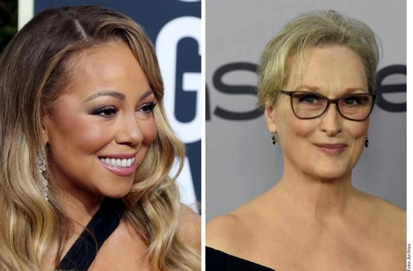 Durante la ceremonia de entrega de los Globos de Oro la cantante Mariah Carey se sentó, durante un corte comercial, en el primer asiento que encontró: el de Meryl Streep, junto a Steven Spielberg, publicó Time.