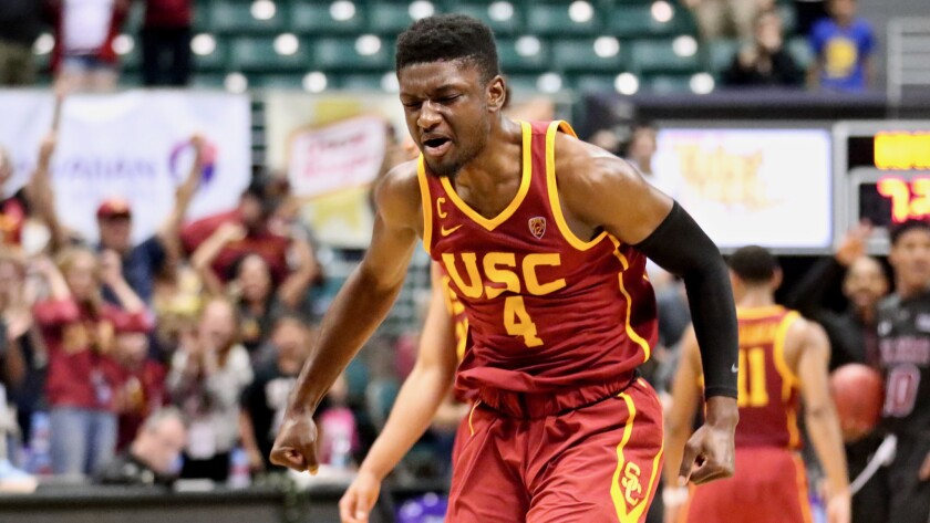 meet 7e398 a4365 USC's Chimezie Metu suspended one half for groin punch - Los ...