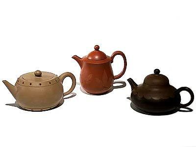 Yixing teapots for formal drinking