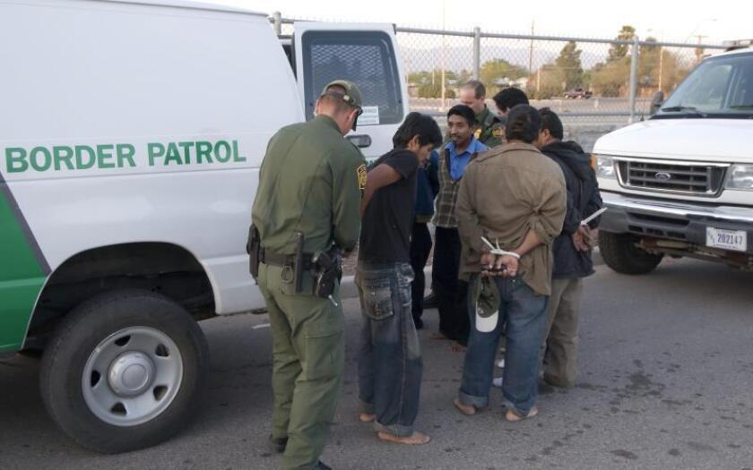La inmigración ilegal no aumenta las tasas de crimen, según estudio