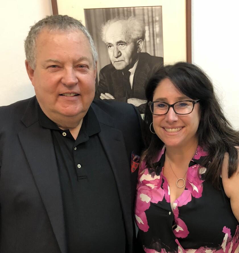 Alon Ben-Gurion and Debbie Kornberg