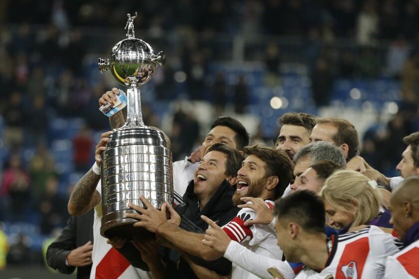 Argentina Copa Libertadores Final Gallardo