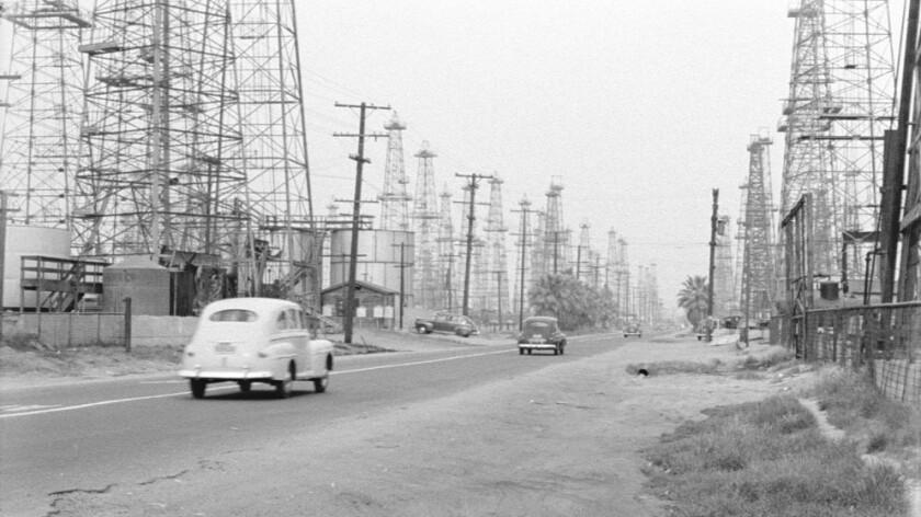 A still from Rick Prelinger's Lost Landscapes of Los Angeles