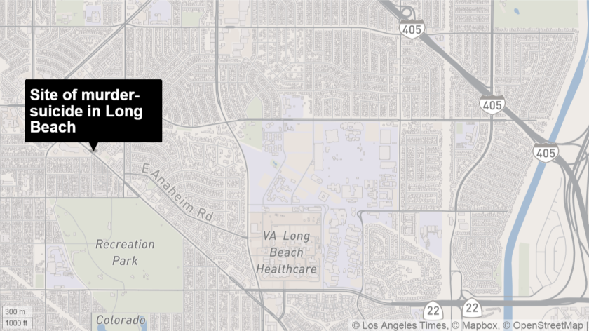 The slain mother and child were found in the 1500 block of Park Avenue in Long Beach, police said.