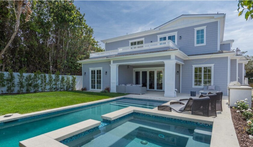 Lawrence Grey's Cheviot Hills home