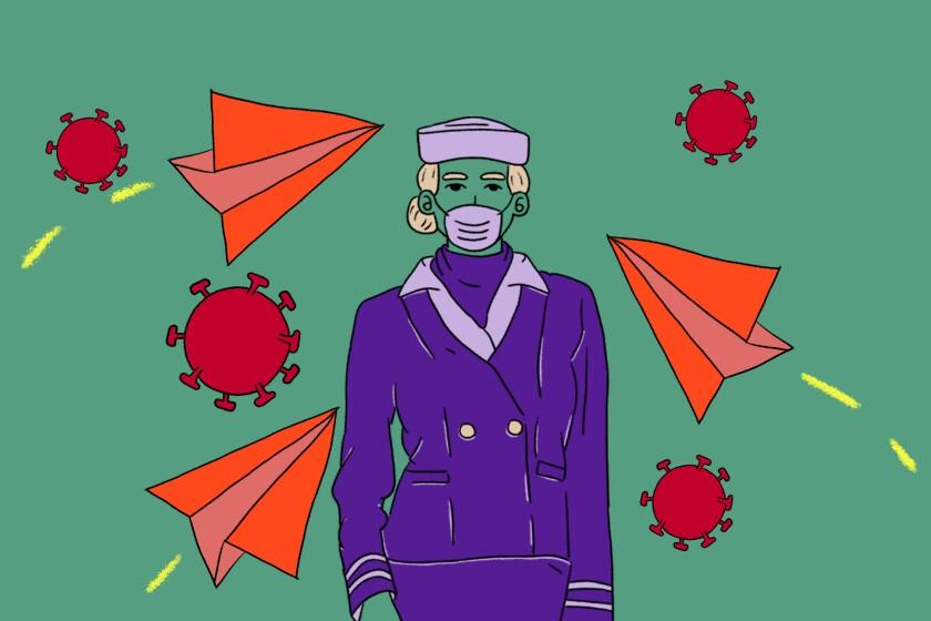 Art for Flying is improving amid coronavirus precautions, this flight attendant says.