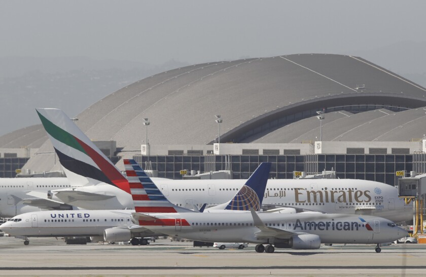 Gov. Jerry Brown originally said that rising sea levels would threaten LAX.