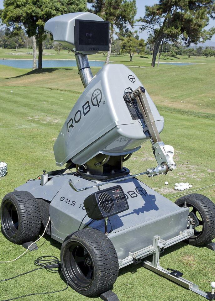 First-ever golf robot comes to Fairbanks Ranch Country Club
