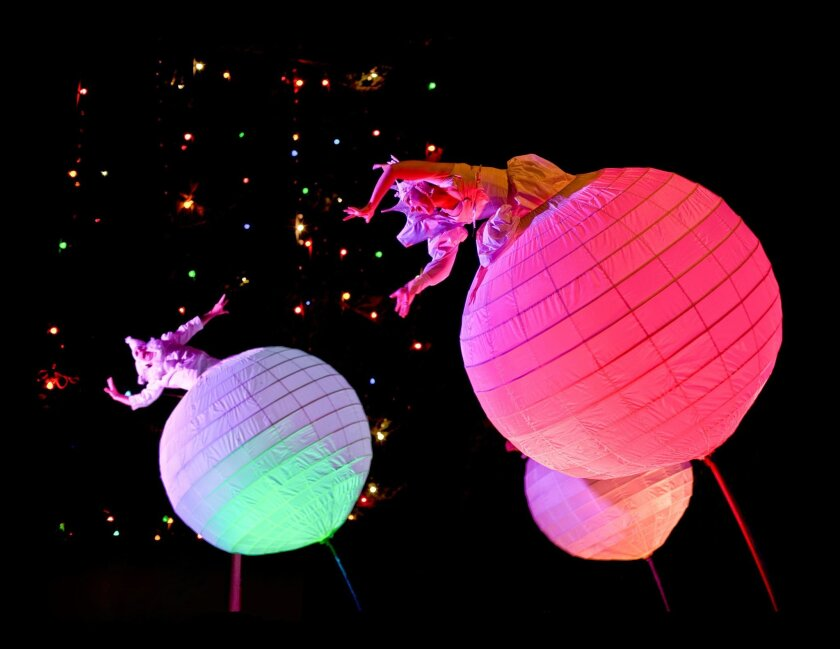 """""""The Spheres,"""" from the Australian troupe Strange Fruit, will open the 2015 La Jolla Playhouse Without Walls Festival."""