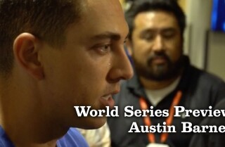 Austin Barnes talks about getting mentally prepared for the World Series