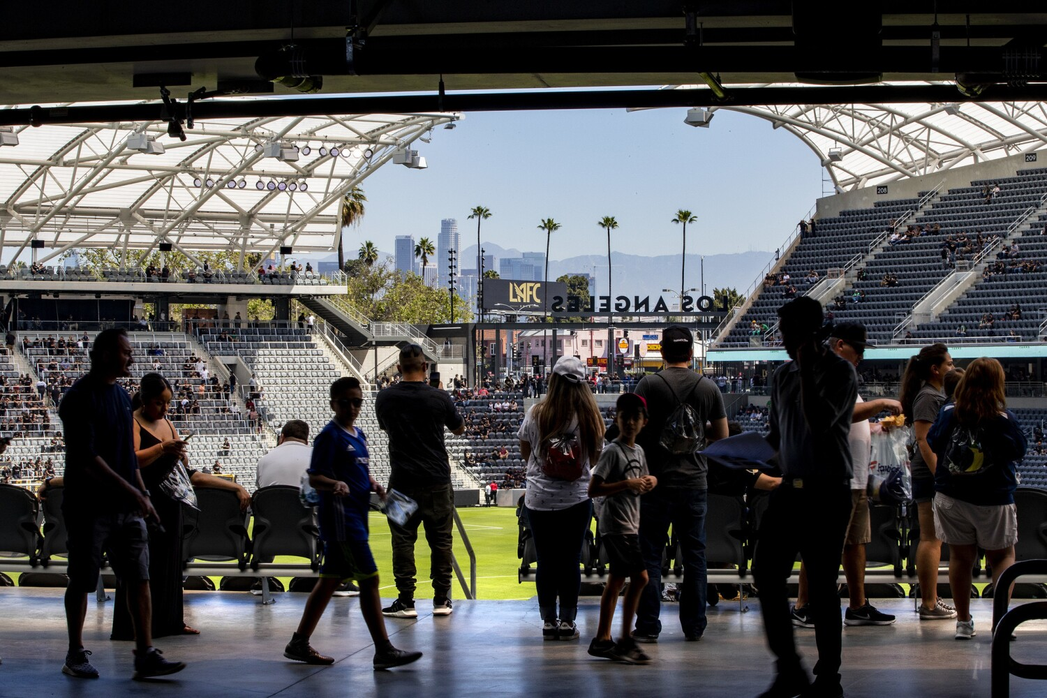 NWSL's Angel City will play home games at Banc of California Stadium