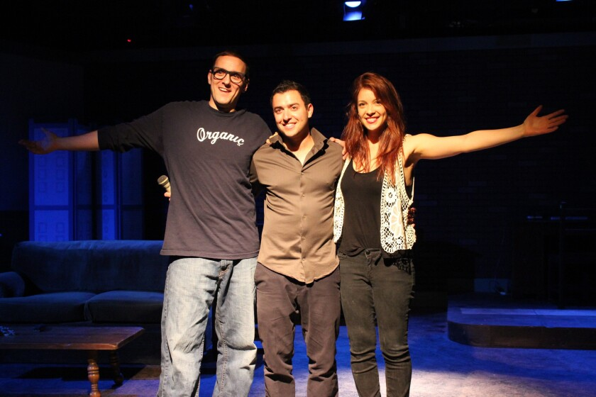 (l to r) Lukas Bailey, Nick McDow, Katie Adler