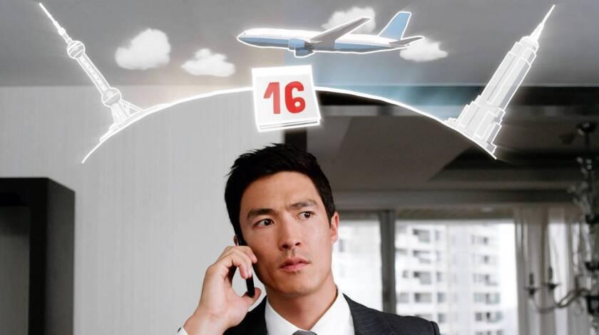 "Daniel Henney in ""Shanghai Calling."""