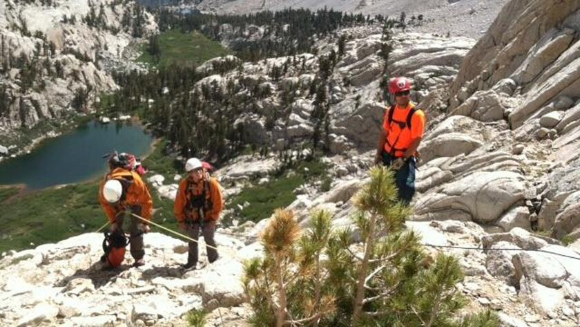 Search for missing Mt. Whitney hiker