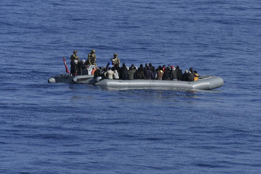 Turkey Libya Migrants
