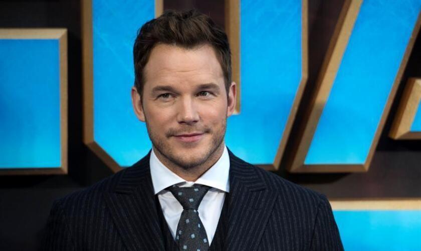 """El actor Chris Pratt se encuentra en negociaciones con el estudio Paramount Pictures para interpretar a Simon Templar, más conocido como """"The Saint"""", informó hoy la web especializada Deadline. EFE/ARCHIVO"""