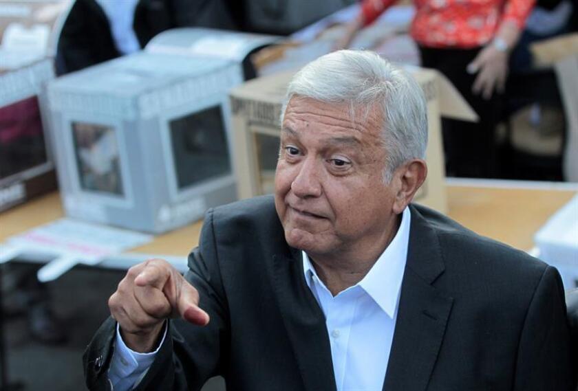 El presidente electo de México, Andrés Manuel López Obrador. EFE