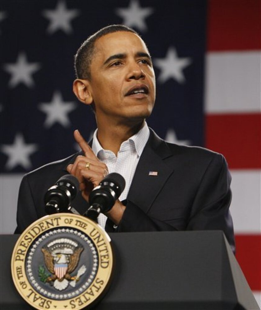 Obama To Announce Plan To Respond To Bioterrorism The San Diego Union Tribune