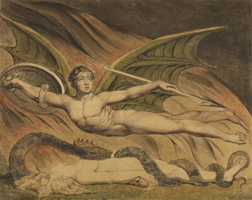 'Satan Exulting Over Eve'