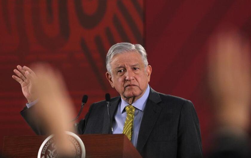 Mexico's president said on March 22, 2019, that the key to bringing down bank commissions is to ensure that those financial institutions face sufficient competition.
