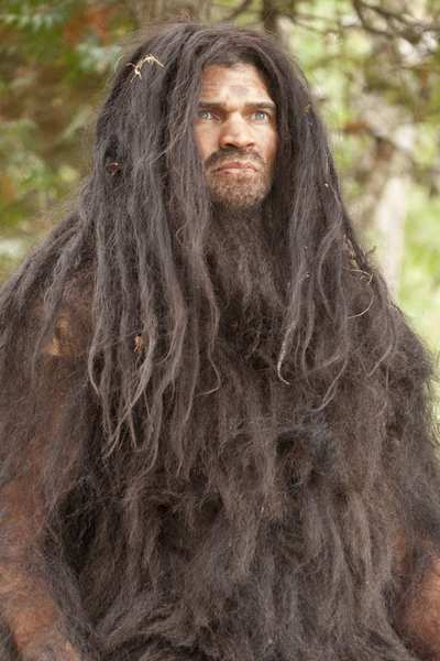 """Bigfoot is back. Well, did he ever go away? In fact, the sasquatch has loomed large in pop culture for decades. Among the recent projects: The History Channel's """"Bigfoot: The Definitive Guide"""" (pictured, with an unidentified actor portraying the creature himself). Click through for more, if you dare."""