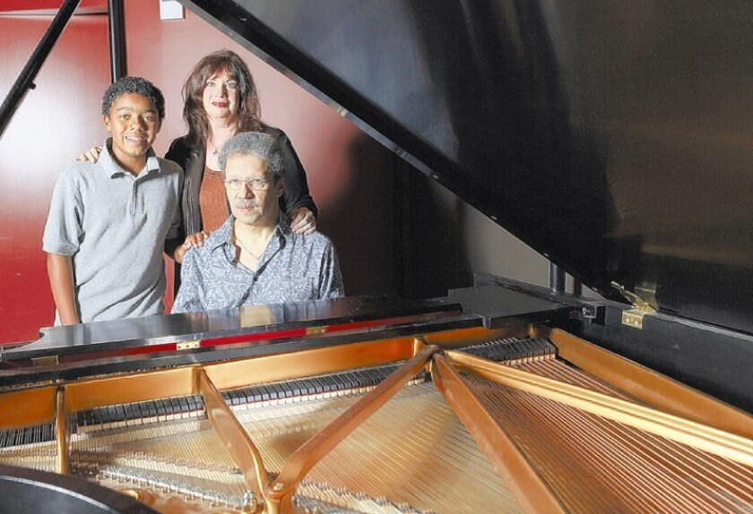 """The family that sings together: Anthony Davis, Cynthia Aaronson-Davis and their son, Jonah. Anthony's """"Lilith"""" will have its premiere this week at UCSD."""