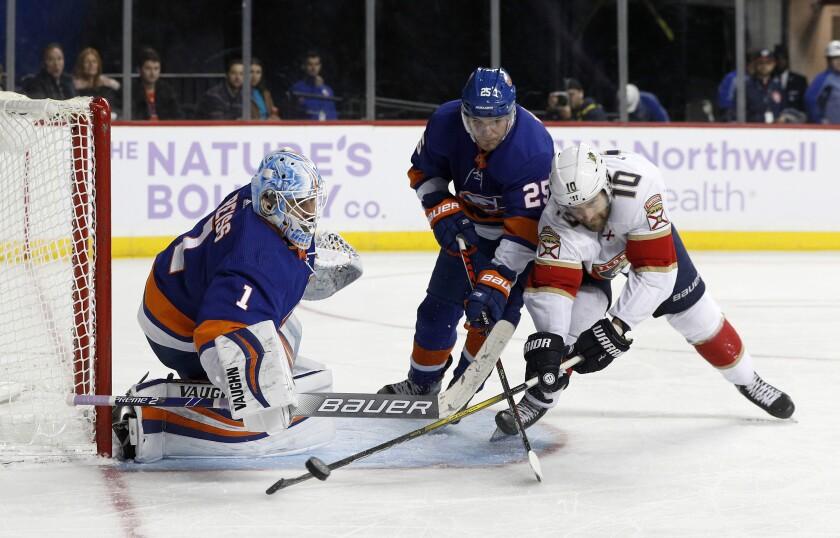 Panthers Islanders Hockey