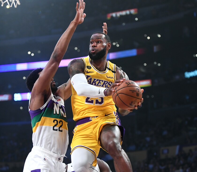Lebron James To Sit Out Lakers Game Against Warriors Los Angeles Times