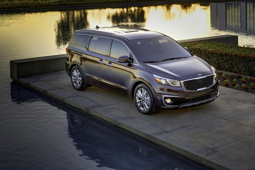 Kia revealed its all-new Sedona minivan Monday. It will target rivals like the Honda Odyssey, Toyota Sienna, and Chrysler Town and Country and Dodge Grand Caravan twins.